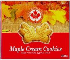 メープルクリームクッキー350g【訳あり品】