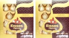 ハーシー キスデラックスチョコレートボックス113g×2箱セット【訳あり品】