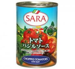 サラ トマトバジルソース400g【訳あり品】